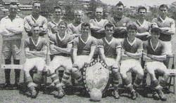 1962 40Cdo RM Football team Singapore