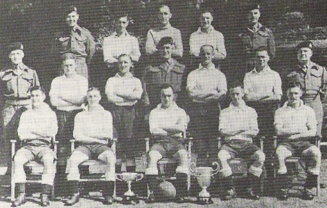 1943-45 RM Training Group Devon Football Team