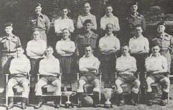 1943-45 RM Training Group Devon Football Team