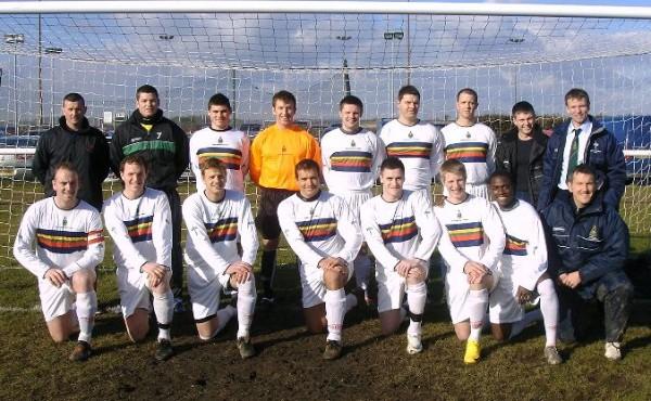 2010 10th Feb RMFA 0 Yeovil Town U18s 1 at Endurance Park CTCRM