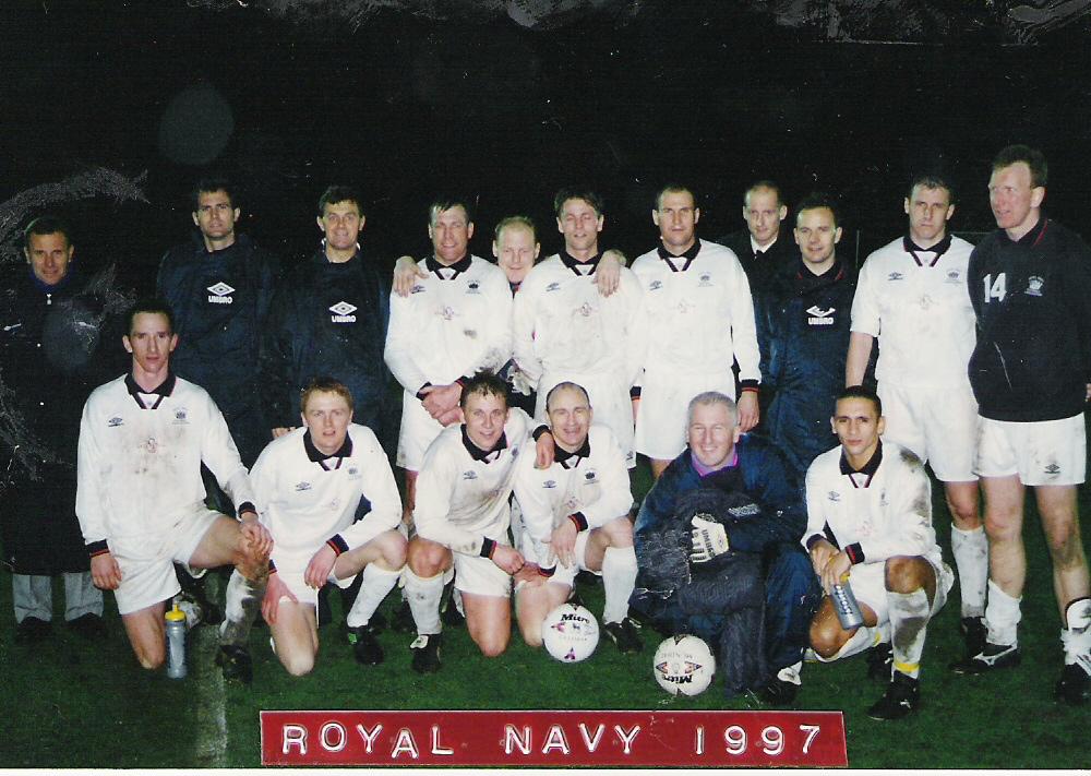 1997 Royal Navy drew 1-1 with RAF