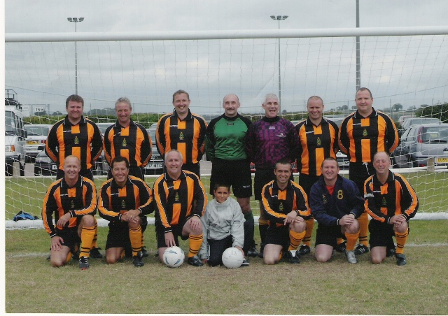 2005 Vets Reunion Laurels team
