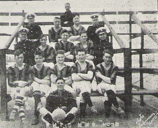 1929 HMS Hood RM Football team