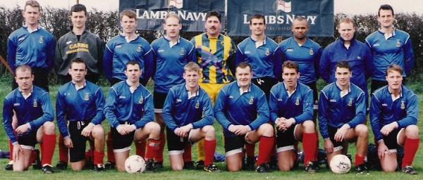 1998 CTCRM Navy Cup team 11th March 1998
