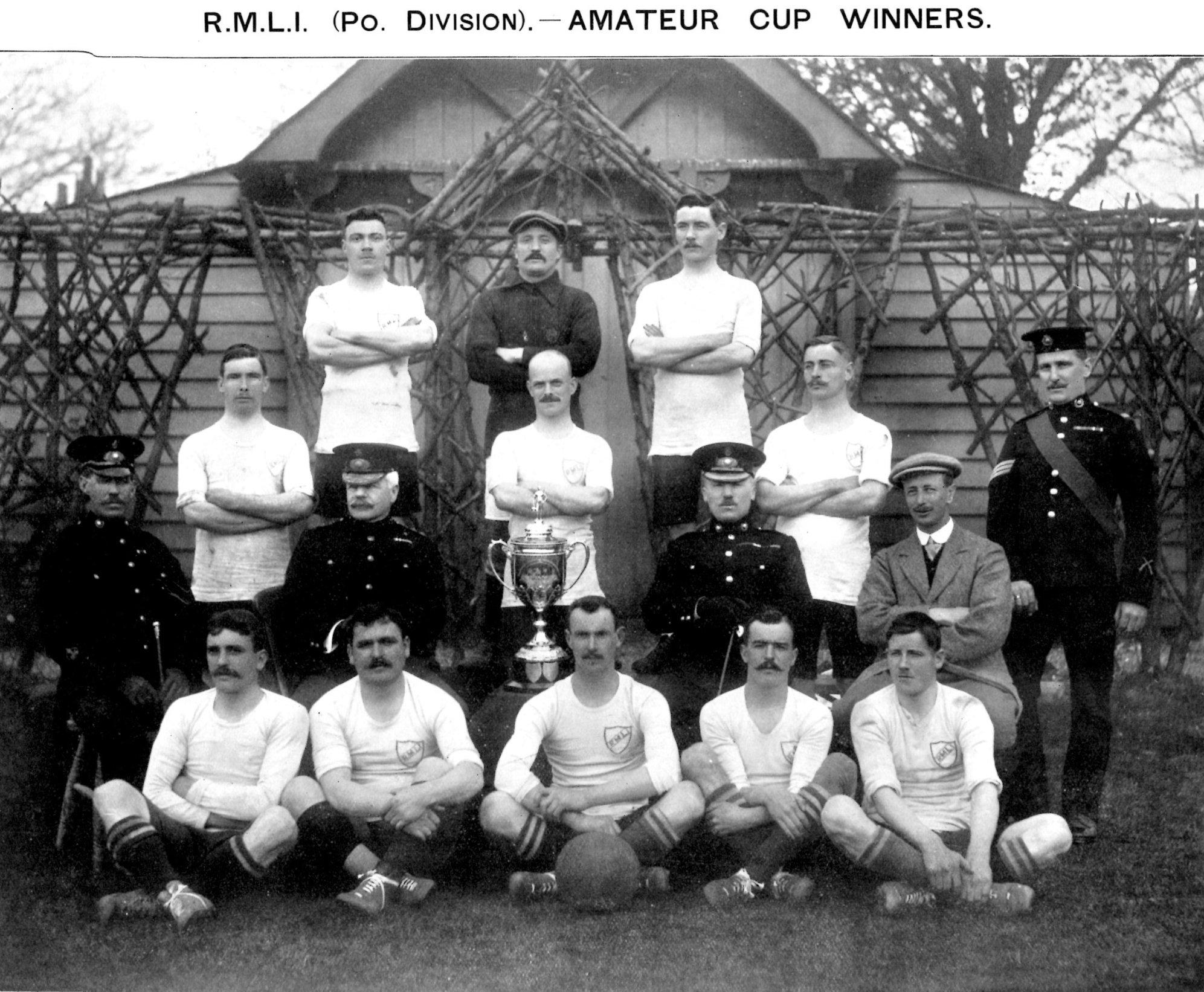 1910 Amateur Cup Winners RMLI