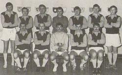 1974 Montague Cup Winners Cdo Log Band service Stonehouse Barracks