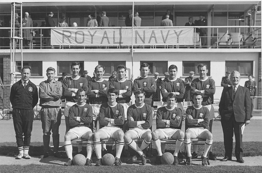 1968 Royal Navy Football Team 27th March