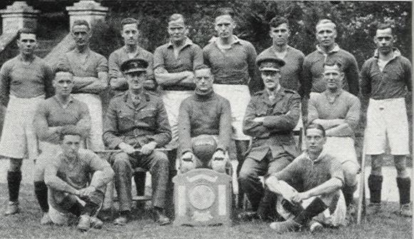 1942 Royal Marines Football team 3rd AA Regt