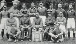 1942 Royal Marines Football team 3rd AA Regt