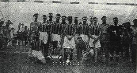 1945 Amphibian Support Reg RM Football Team, India