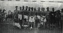 1945 Amphibian Support Reg RM Football Team, India