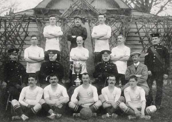 1910 Amateur Cup Winners Royal Marines Light Infantry