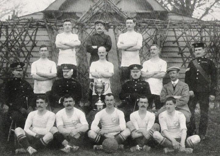 1910 Amateur Cup Winners Royal Marines L