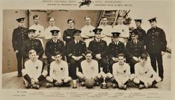 1921-22 Royal Marines Football team HMS Resolution