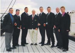 2004 RNFA Centenary on HMS Warrior