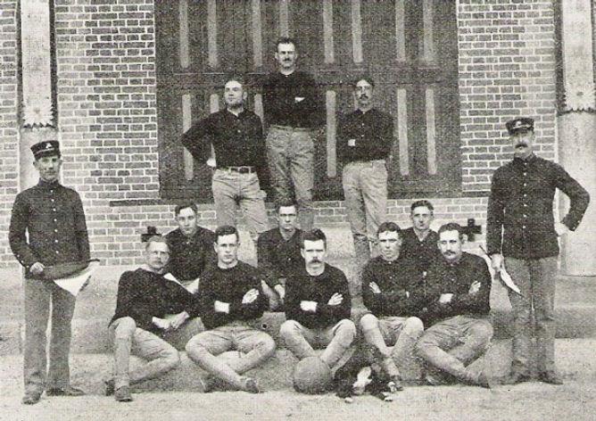 1905 US Marines Legation Guard Football Team