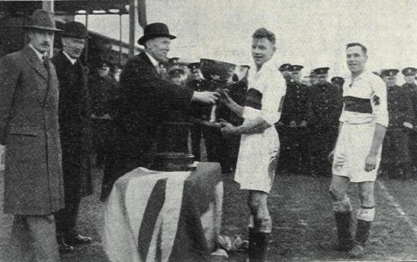 1934 Tunney Cup Winning Captain Plymouth Division RM