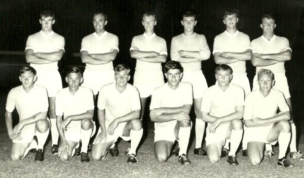 1969 40Cdo RM Football Team HMS Terror Singapore