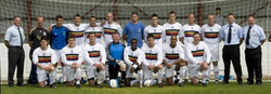 Taunton Town 2 (Veale, Grant) Royal Marines 1 (Mikey Husbands penalty) 2011