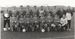 1989 (November) CTCRM football team Navy Cup winners