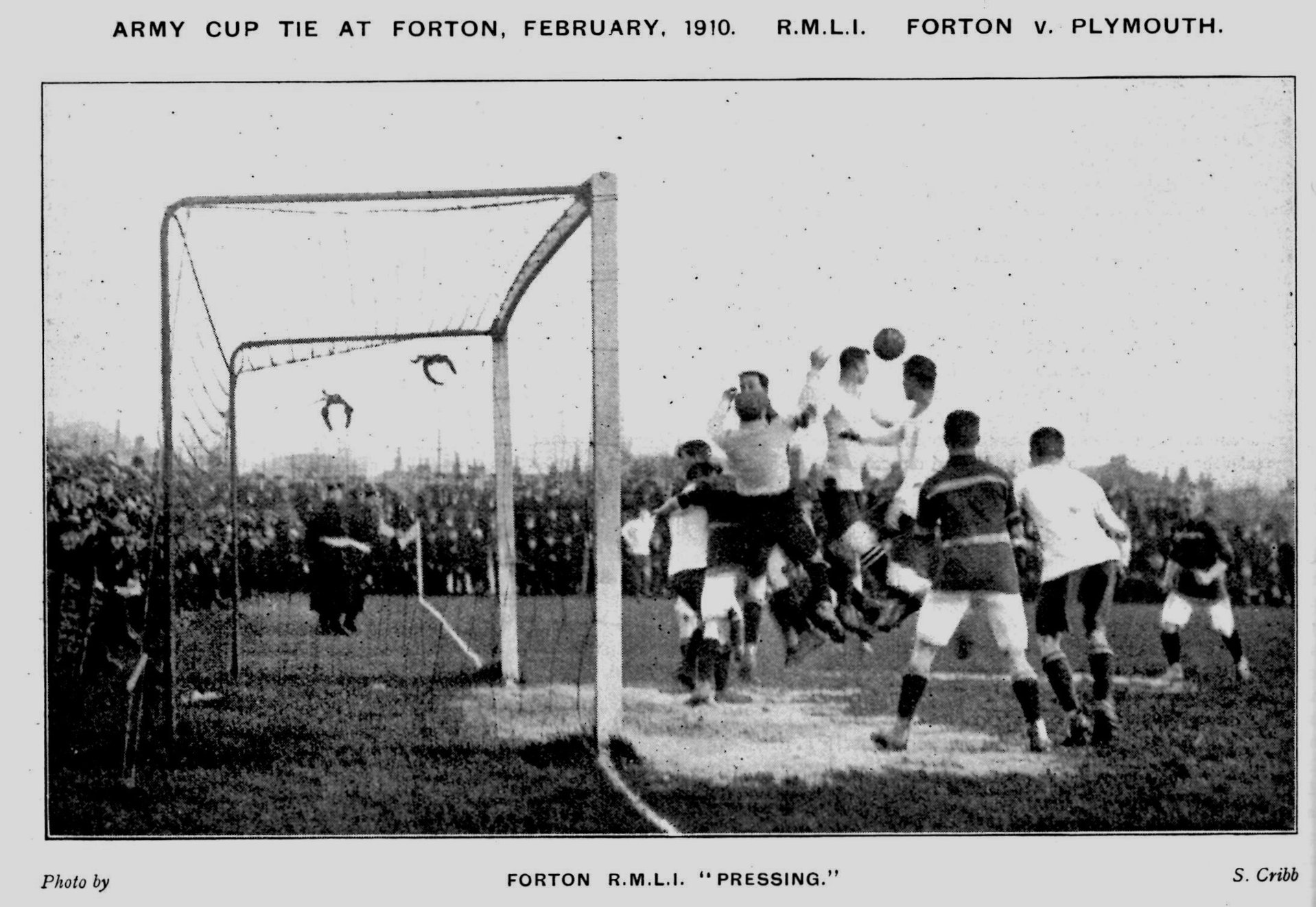 1910 Army Cup 5th round action