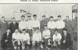 1930 Winners Portsmouth Division Royal Marines