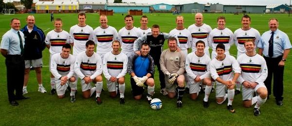 Hull City U18's 5 Royal Marines 1 (Mark Connet) 2011