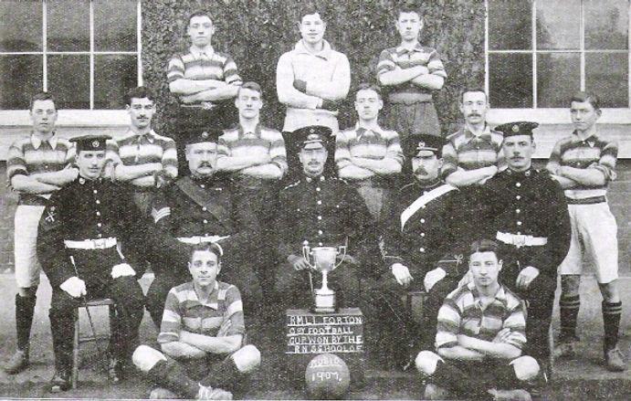 1907 Royal Navy School of Music Football Team