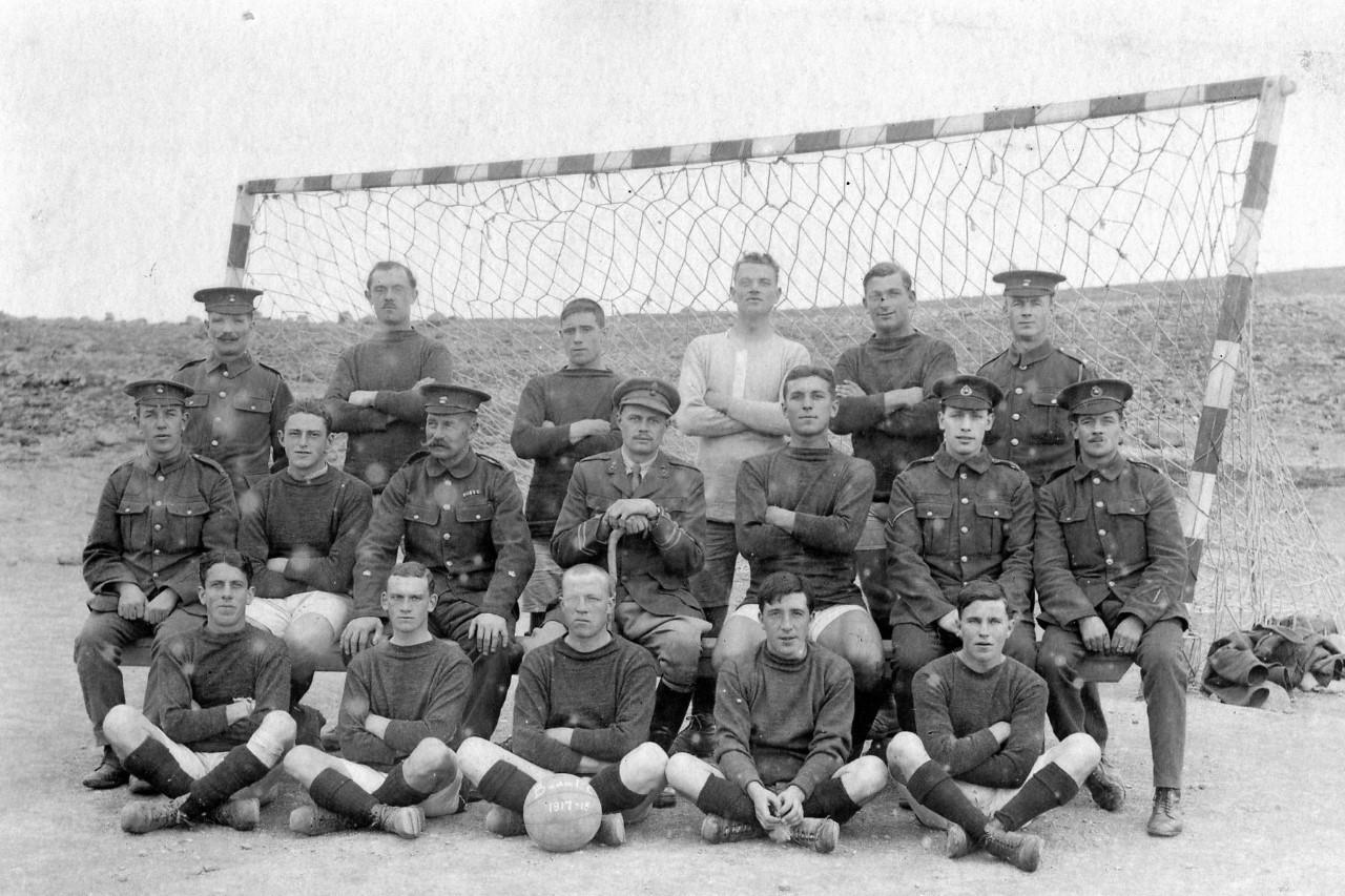 1917-18 RMA Football team