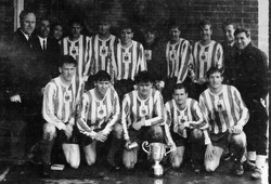 1970 Inter Commands Winners Royal Marines  beat Naval Air Command 2-0