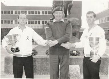 George Kent Clive Hunter Paul Dixon Royal Marines Football