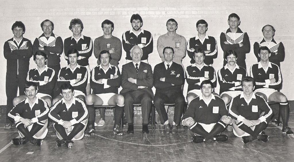 1980 Royal Navy FA Squad