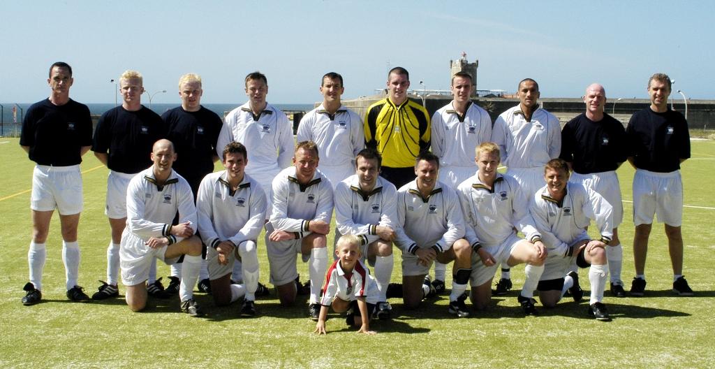 2003 Royal Navy tour Portugal