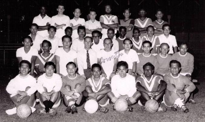 John Ellis Singapore football association