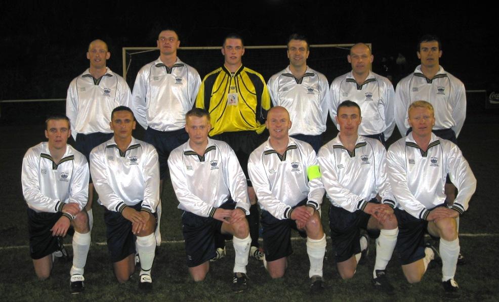 2004 Royal Navy Team v Guernsey