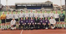 1993/4 Royal Navy Football Squad