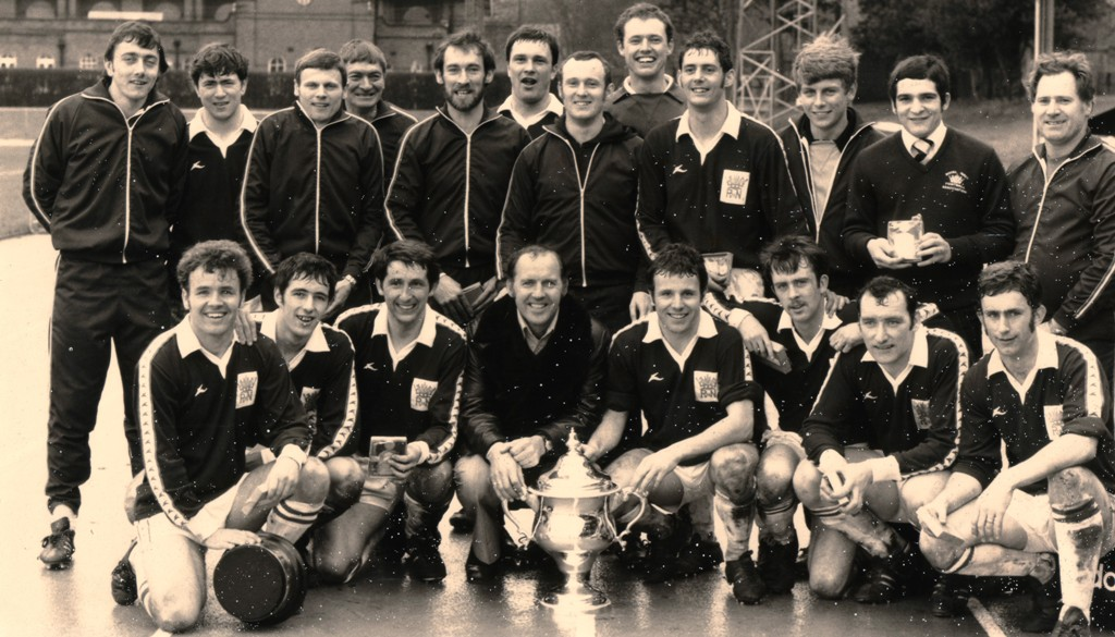 1980 Royal navy Football Team