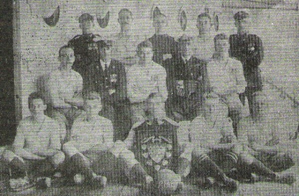 1925-26 HMS Danae RM Football Team