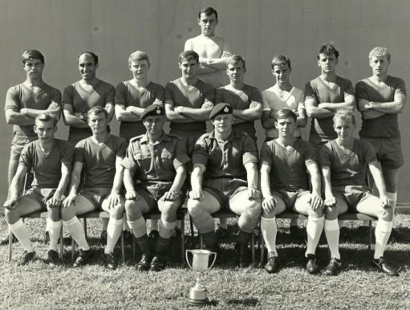 1969 40Cdo Football Team Singapore