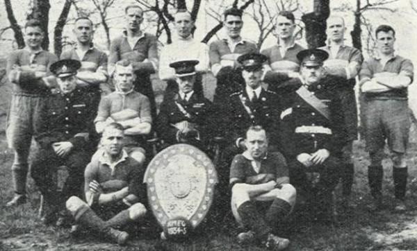 1934-35 Royal Marines Chatham