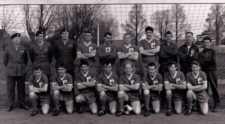 1966 Royal Marines football team