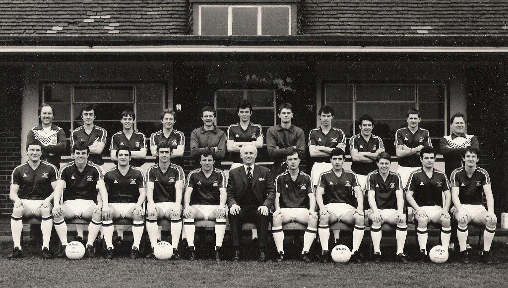 1981 Royal Navy FA Squad