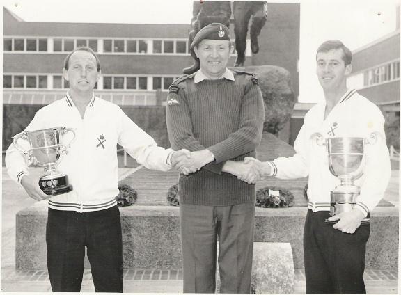 1988 Royal Marines Football clean sweep