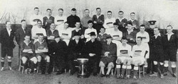 1934 Tunney Cup Finalists RM Plymouth Division & RM Chatham Division