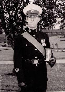 John Ellis Royal Marines Bristow Trophy