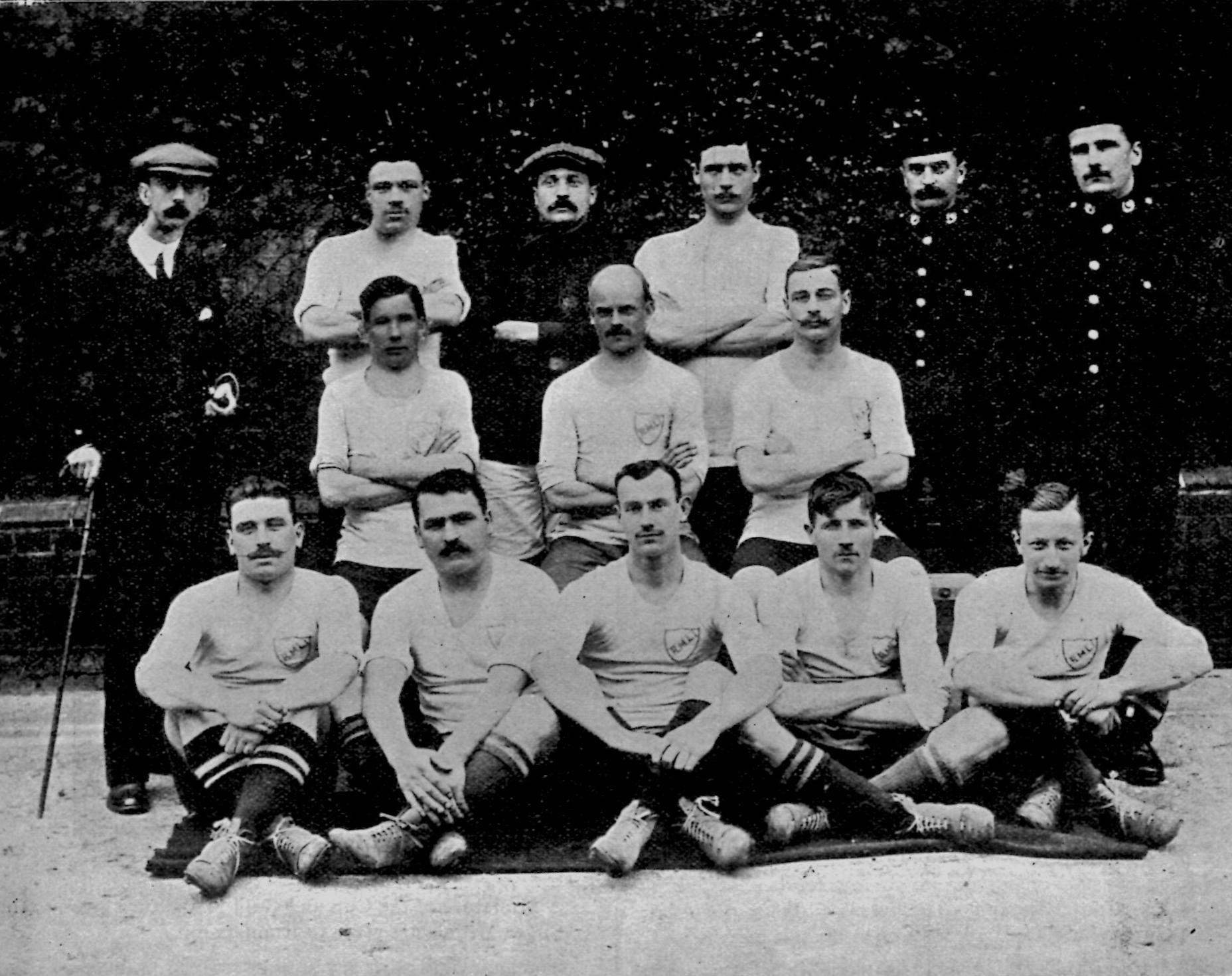 1910 Army Cup Winners RMLI