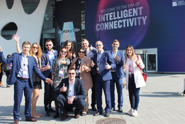 ITD Telecom team at MWC Barcelona 2019
