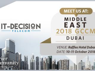 ITD Telecom Sponsor at GCCM Dubai 2018