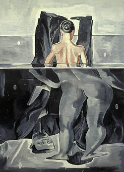 A Woman and Three Men