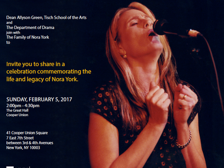 Celebrating the life of Nora York